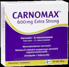 Carnomax 600 mg Extra Strong 60 tabl